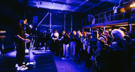 Benjamin Ingrosso on stage